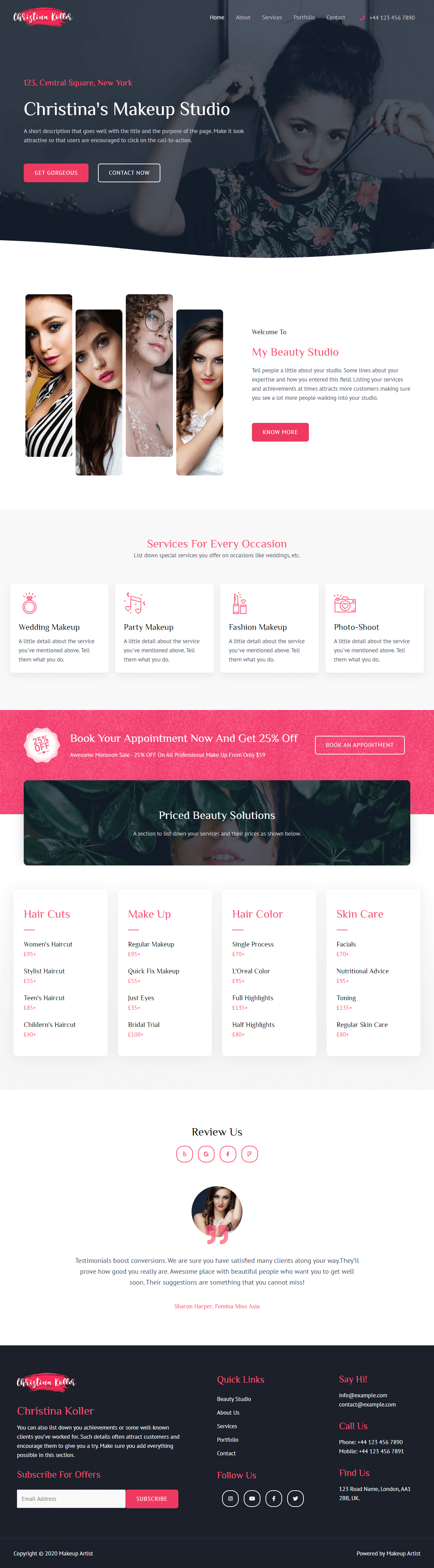 screenshot websitedemos.net 2020.10.11 23 12 30